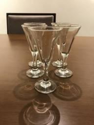 Conjunto 5 taças vinho do Porto
