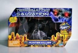 Action figure exterminador do futuro, aceito cartões