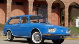 Vw Variant 1600 1974 / Colecionador / Placa preta