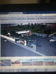 Um sonho de moradia. Repasse de terreno no condomínio Monte Carlos
