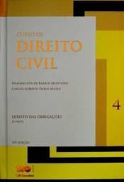Excelente livro de Direito Civil - Vol. 4 - Direito Das Obrigações - 1ª Parte