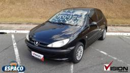 PEUGEOT 206 2007/2008 1.4 SENSATION 8V FLEX 4P MANUAL - 2008