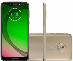 Smartphone Motorola G7 Play 32GB Ouro 4G-2GB RAM Tela 5,7? Câm. 13MP + Câm. Selfie 8MP