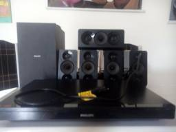 Home Theater Philips com blue ray