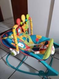 Cadeirinha FisherPrice para bebês c/massageador