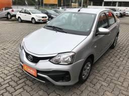 TOYOTA ETIOS 2017/2018 1.5 X SEDAN 16V FLEX 4P AUTOMÁTICO - 2018