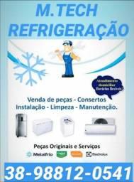 Manutenção e conserto máquina e geladeira