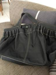 Bolsa de couro legítimo da grife Margot