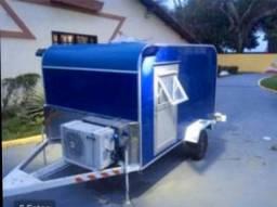 VENDE-SE trailer casulo / carrocinha / motorhome - 2015