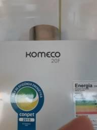 Aquecedor gás marca komeco modelo 20F - semi novo