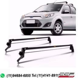 Usado, Rack Bagageiro Teto Vhip Fiesta Hatch E Sedan 2002 A 2014 comprar usado  Itapevi