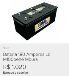 Vendo bateria Moura 180a