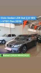 Civic sedan lxr aut 2.0 flex