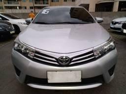Toyota Corolla GLI 1.8 Flex/GNV. C/Entrada+48x1101 Fixas