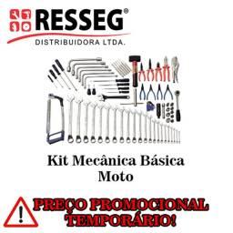 Kit Mecânica Básica para Moto, Caminhão e Veículos Leves- 85/110/107 peças - Gedore