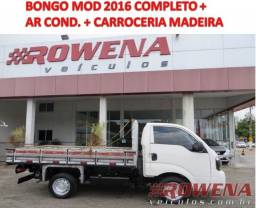 Kia Bongo Mod 2016 Completo + Ar condicionado + carroceria Madeira