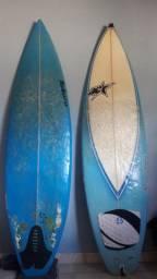 Duas Pranchas de surfboard ( aceito trocas) leia a descrição