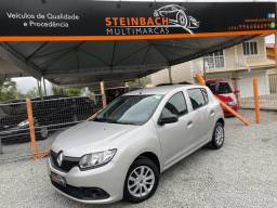 Renault Sandero Authentique 1.0 Completo 2015/2016