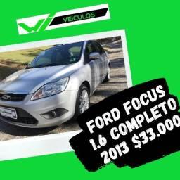 Ford Focus Sedan 1.6 Completo 2013