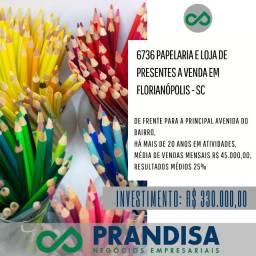 6736 Papelaria no entorno da UFSC em Florianópolis