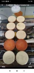 Botões puxadores antigos futebol de mesa
