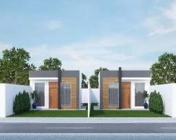Casa térrea individual no Lagoa Park 1 com 02 quartos sendo 01 suíte e quintal nos fundos