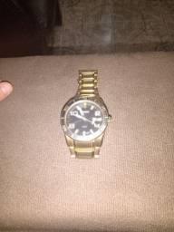 Relógio Orient top banhado a ouro