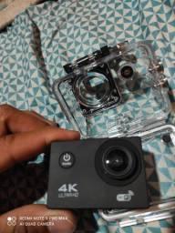 Título do anúncio: Câmera 4k ultra HD zerada nova