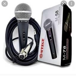Título do anúncio: Microfone Profissional Novo
