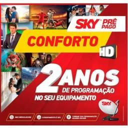 Título do anúncio: Recepto Conforto HD com 2 anos de programação de canais abertos
