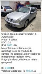 Citröen Xsara Exclusive Hatch 1.6 Automático