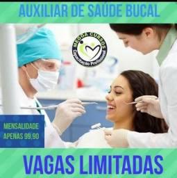Título do anúncio: Curso de Auxiliar de saúde bocal no MEGA CURSO