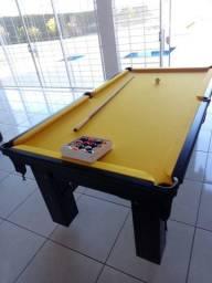 Mesa Diver Madeira Slim Redinha Tecido Amarelo Mod. 659ZE0PJ