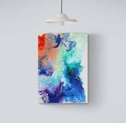 Título do anúncio: Quadro colorido rainbow 50x70cm
