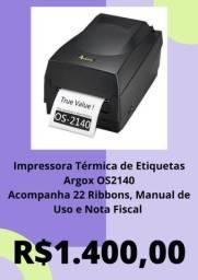 Título do anúncio: Impressora Térmica de Etiquetas