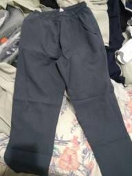 Título do anúncio: Fardamentos (calças c/ elástico Oxford) vários tamanhos