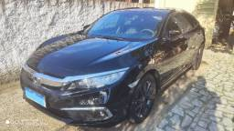 Honda Civic EXL 2021 Preto