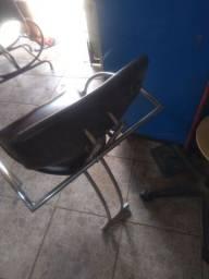 Título do anúncio: Cadeira de escritório semi nova filé