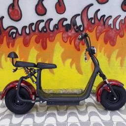 Patinetes/Scooters Elétricas novas em 18 x no cartão