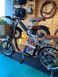 Bicicleta elétrica com nota fiscal e garantia