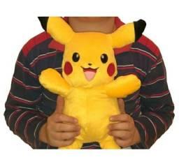 Pikachu de pelucia 34 Cm lindo grande boneco bordado pronta entrega