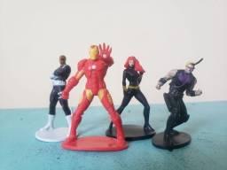 Título do anúncio: Lote miniaturas Marvel
