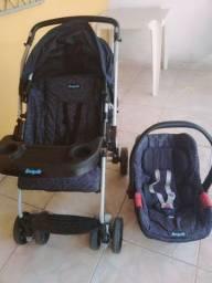 Carrinho +bebê conforto  burigotto