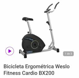 Título do anúncio: Bicicleta Ergométrica  CARDIO BX 200 Weslo
