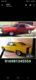 Dodge RT 1972 e Maverick V8 1976