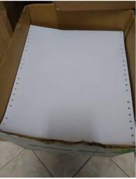 Título do anúncio: papel folhas formulario continuo