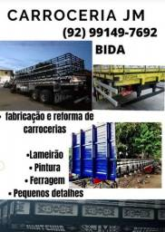 Título do anúncio: Fabricação e reforma de carrocerias