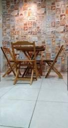 Título do anúncio: Mesas e Cadeiras Dobravel