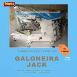 colarete ou galoneira jack industrial w4 nova com suporte