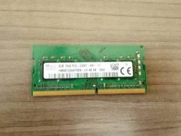 Título do anúncio: Memória DDR4 8GB
